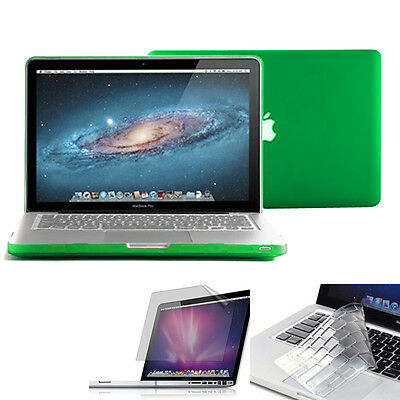 $13.21 • Buy Hard Case For 13.3' Inch Macbook Pro+Silicone Keyboard Cover/Clear Screen Guard