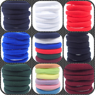 $ CDN4.77 • Buy Hair Elastics Bobbles Ponios Band Endless Women Girl School Elastic Hairband Uk