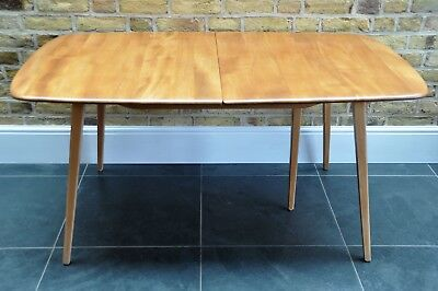 Vintage Retro 60's Ercol Ercol Windsor Extending Extendable Plank Table • 1,350£