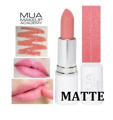 £2.95 • Buy Peachy Keen Matte Lipstick By MUA Make Up Academy Brand New Fully Sealed