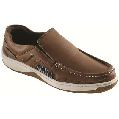 £119.85 • Buy Dubarry Of Ireland Yacht Brown Boat Shoe Loafer Men's Sizes 40-44/7-11 NEW
