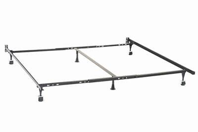 $ CDN135.70 • Buy Adjustable Queen To King Bed Frame With Rollers For Headboard ONLY
