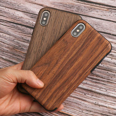 Natural Wooden Pattern Case For IPhone 6 7 8 XS Max XR Soft Silicone Slim Cover • 4.69£