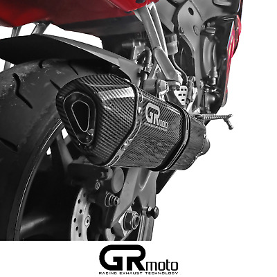 $290.21 • Buy Exhaust For YAMAHA R6 YZF 2003 - 2005 GRmoto Muffler Carbon