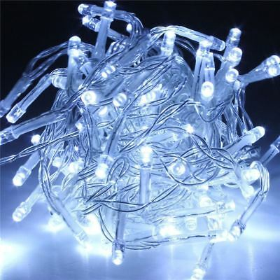 £3.59 • Buy 30 LED String Light Christmas Decoration Lights Battery Operated - Cool White