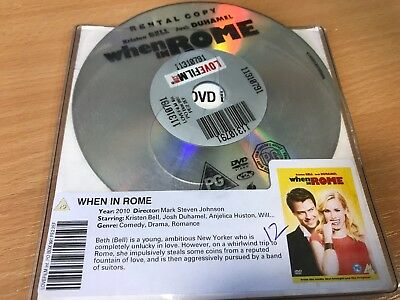 When In Rome (DVD, 2010) DISC ONLY • 1.65£