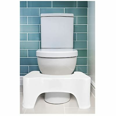 Squatting Step Stool Bathroom Potty Squat Aid Constipation Piles Relief • 8.59£