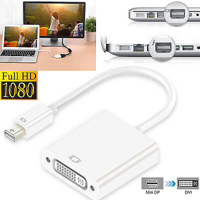 $9.60 • Buy MINI DISPLAYPORT DP TO DVI CABLE ADAPTER FOR MacBook Pro Air / MS Surface Pro