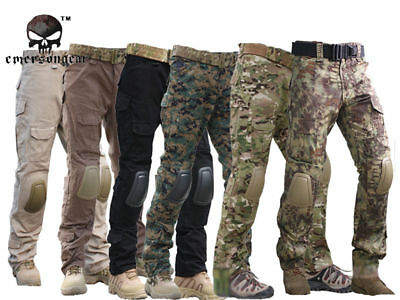 £29.89 • Buy Tactical Pants With Knee Pads, Emerson Gen2 Camping Hiking Hunting Trousers