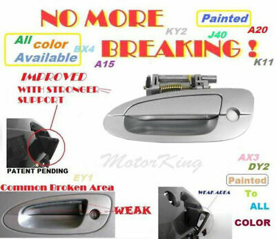 $18.90 • Buy Upgraded MotorKing Door Handle For NISSAN ALTIMA Outside Front Left KY1 Silver