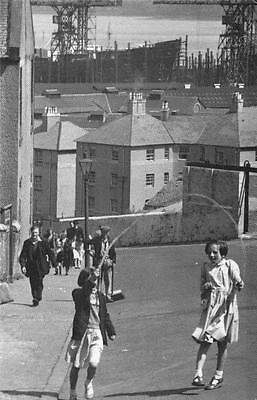 £1.99 • Buy Postcard Nostalgia 1954 Children Play In Streets Of Greenock Reproduction Card