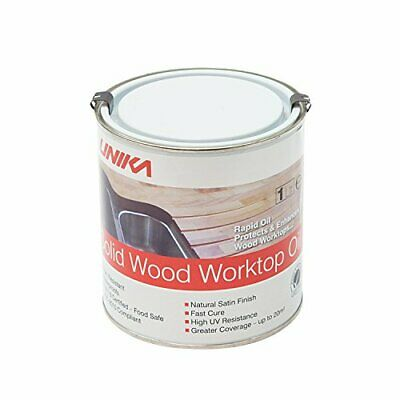 Unika Solid Wood Worktop Oil Assorted Sizes , Styles  • 20.01£