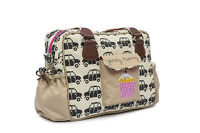 £39.95 • Buy Pink Lining Yummy Mummy Baby Changing Nappy Bag - Black Cabs