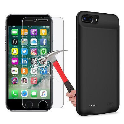 AU52.12 • Buy Power Bank Charing Case For Iphone 6 6s 7 8 Plus Battery Charger Case CA