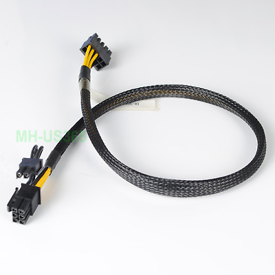 $ CDN23.49 • Buy GPU 35cm 10pin To 6+2pin Power Adapter Cable For HP DL380 G9 NVIDIA Quadro K6000