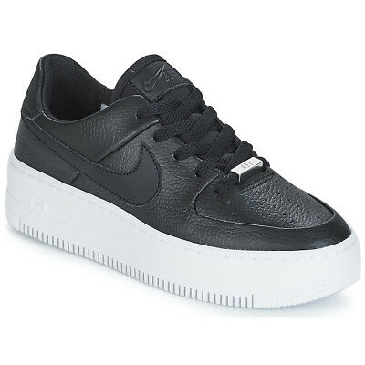 scarpe nike air force donna nere