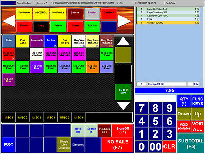 £125 • Buy Epos POS IX50Lite Software - Turn Your Pc Into A POS Till System