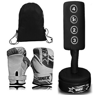 Free Standing Boxing Punch Bag Heavy Duty Bag MMA Pro Martial Arts Kick Stand  • 49.99£