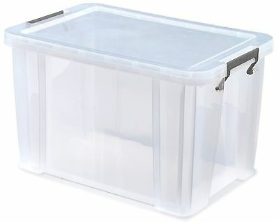 £19.95 • Buy Comic Storage Boxes Clear Hard Plastic And Stackable