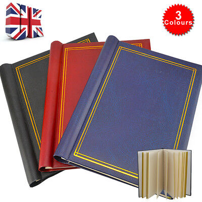 Self Adhesive Large Photo Albums Totalling 60 Sheets 120 Sides Album X3 • 11.99£