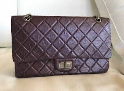 014f347d6cd Chanel Metallic 2.55 Reissue Quilted Classic 227 Flap Bag Purple Ori  5500  • 3