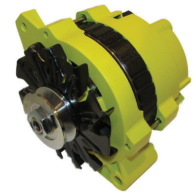 $ CDN169.12 • Buy New 220 Amp High Output Yellow Alternator For Gm Chevrolet 65-85 1-wire One Wire