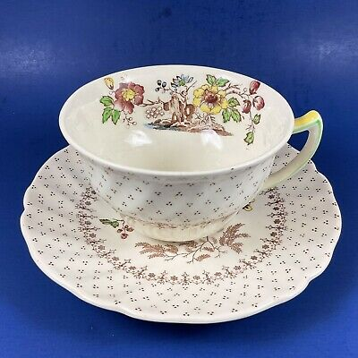 $ CDN9.99 • Buy Royal Doulton Grantham Pattern Teacup & Saucer - 8 Sets Available