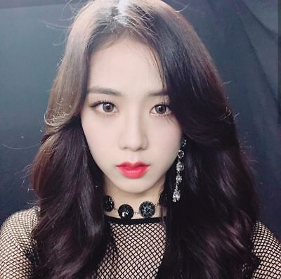 Blackpink Jisoo KPOP Pink Earrings • 8£