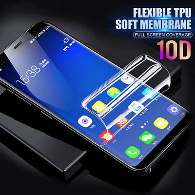 $ CDN2.16 • Buy 10D For Samsung Galaxy Note 10 Plus S9 S10 Hydrogel Full Screen Protector Film