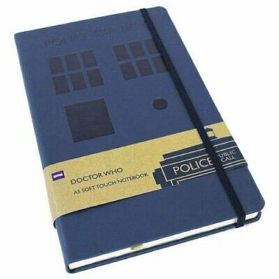 Doctor Who A5 Notepad Soft Touch Tardis Design Lined Paper • 8.99£