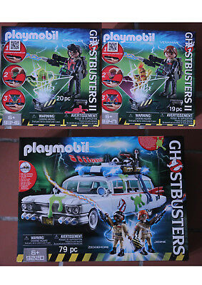 Playmobil Ghostbusters Au Choix Ecto-1,Spengler,Bouffe-tout,9220,9222,9346,9347 • 12.49£