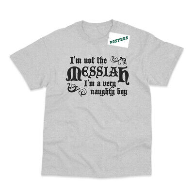 £9.95 • Buy I'm Not The Messiah Inspired By Life Of Brian Printed T-Shirt