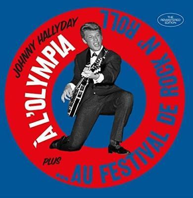 AU18.14 • Buy Johnny Hallyday - A L'Olympia / Au Festival De Rock N Roll [CD]