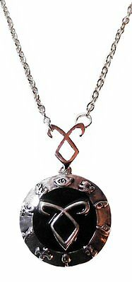 Mortal Instruments Series Black Angelic Power Rune Necklace With 20  Chain • 6.51£
