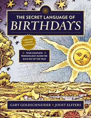 £19.35 • Buy Secret Language Of Birthdays : Personology Profiles For Each Day Of The Year,...