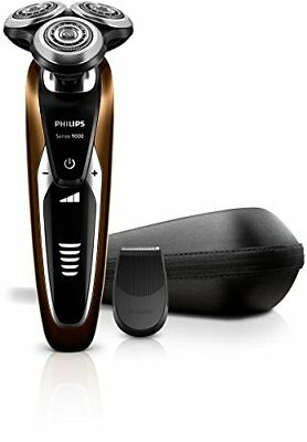 View Details Philips Shaver 9000 S9511/12 Wet Dry Rechargeable Electric Razor • 258.31£