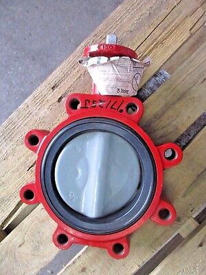 $150 • Buy Bray 6  Iron Butterfly Valve, Series 31 (without Handle) #17125j New