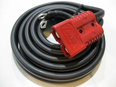 $95 • Buy WARN 26405 Winch Short Lead Wire 90  Cable 175 Amp Front Quick Connect Connector