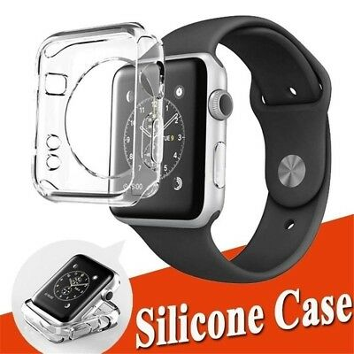 $ CDN3.10 • Buy For Apple Watch Series 4/3/2/1 Case Cover Protector TPU Rubber Bumper IWatch UK