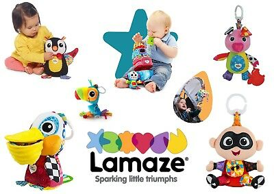 Lamaze Play And Grow Baby Child Pram Cot Activity Soft Toy BRAND NEW 12 Designs  • 19.50£