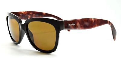 aaf3a7d53a4f PRADA SPR 07P DHO-5Y1 Brown Havana   Brown Polarized Square Sunglasses •  59.99