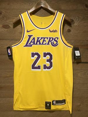 competitive price 6eca7 32041 lakers authentic jersey 48