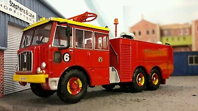 $33.20 • Buy 1:76 OO/00 Thornycroft Nubian Airport Airfield Crash Rescue Fire Engine Bristol
