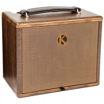 £139 • Buy Kinsman 25w Acoustic Amplifier With Chorus Mains/Battery Powered Busking Amp