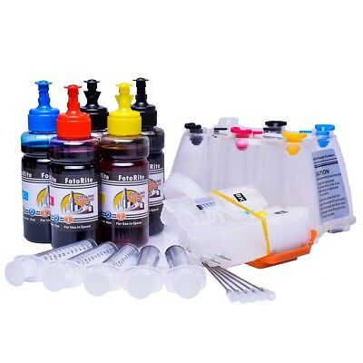 Non OEM Dye + Pigment Ink Ciss Continuous Ink System Fits Epson XP-900 • 54.99£