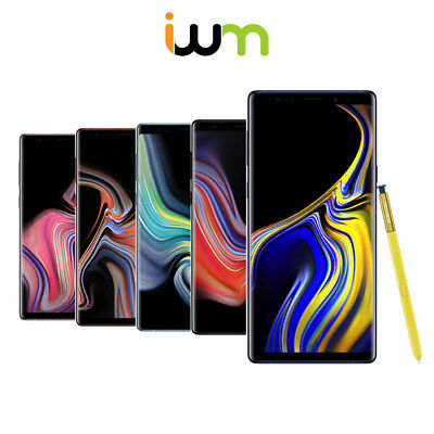$ CDN436.35 • Buy Samsung Galaxy Note 9 128GB / 512GB - Blue / Purple / Black / Gold / Silver