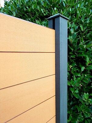 Composite Fence Panels. Garden Fence Panels Made To Order By Eco-Wood • 185£