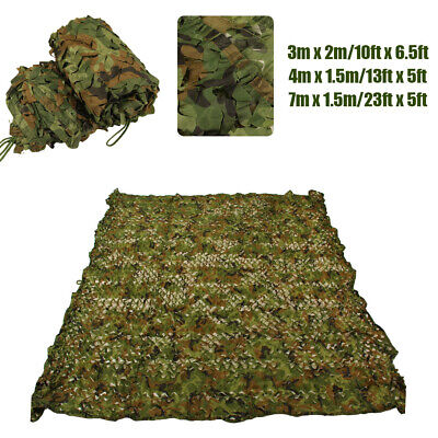 £9.29 • Buy Camo Net Camouflage Netting Hunting/Shooting Hide With Carry Bag By Nitehawk