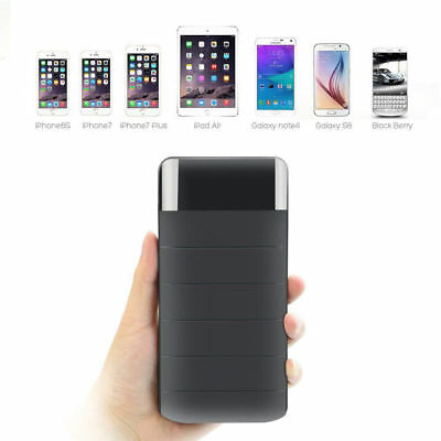AU87.55 • Buy Portable 30000 MAh External Power Bank Pack 2 USB Battery Charger For Phone