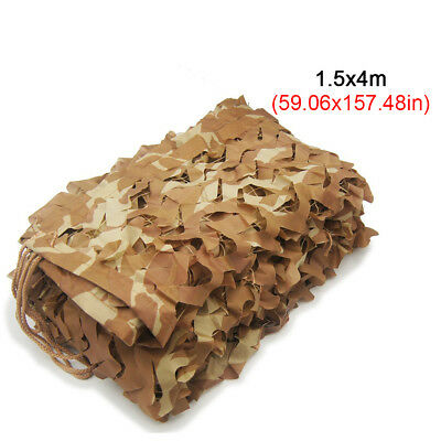 $16.99 • Buy 5X13ft Camping Military Camouflage Blind Net Woodland Desert Camo Netting Cover